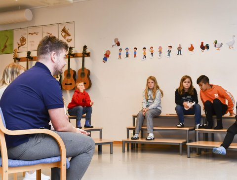 Det var mange som ville koma med innspel då fungerande ordførar, Hans Inge Myrvold, tok turen innom årets første elevrådsmøte på Undarheim skule måndag.