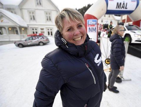FORNØYD: Løpsleder Torill Karlsrud høstet mange lovord om løypa og avviklingen av løpet.