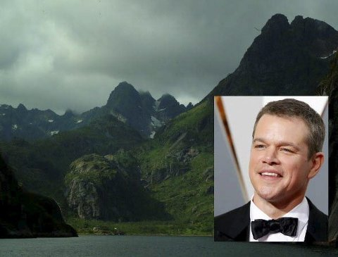 Gleder seg : Matt Damon ser fram til å komme til Norge.