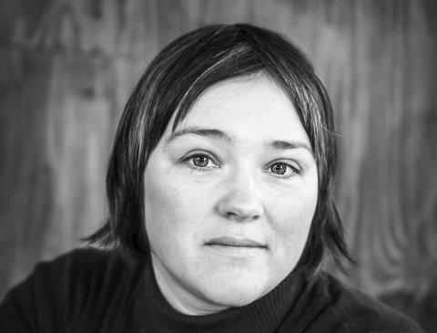 Ny bok: Hilde Johansen fra Svolvær.Foto: Trude Brun Wilhelmsen