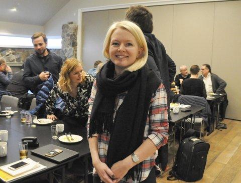 Fornøyd: Line Nessø Eide har gleden av å meddele at det blir naturguidestudie i Svolvær. Foto: Arkiv