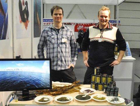 Tare og sennep: Nikolai Buer i Lofoten Esca Verno og Jørgen Storhaug i Arctic Mustard. Foto: Synne Mauseth