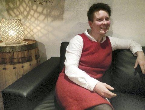 Aimee Cathrin Larsen er en av utstillerne på Bondens marked.