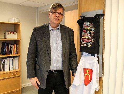 FORNØYD: - Jeg er veldig fornøyd med å få Are Hammervold Solvang med på laget, sier Hans Reidar Ness, prosjektleder/rådmann i nye Moss.