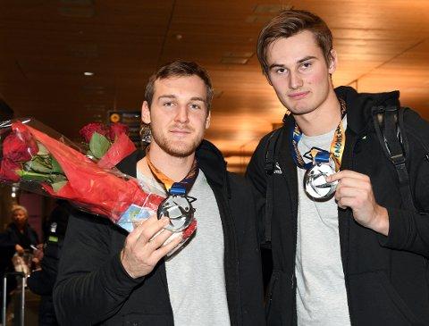 NYTT MESTERSKAP: Christian O'Sullivan og Magnus Abelvik Rød kom hjem med sølvmedaljer fra VM i fjor, nå er duoen klare for EM i Kroatia. Og kanskje kan det bli medalje nok en gang?