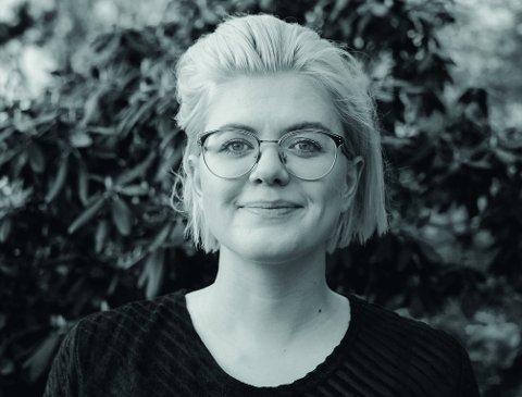 """Ellen Støkken Dahl, en av forfatterne bak """"Gleden med skjeden""""."""