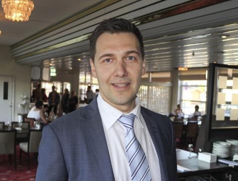 NY DIREKTØR: Jevgeni Mlinnikov er den nye direktøren på Quality Hotel Saga.