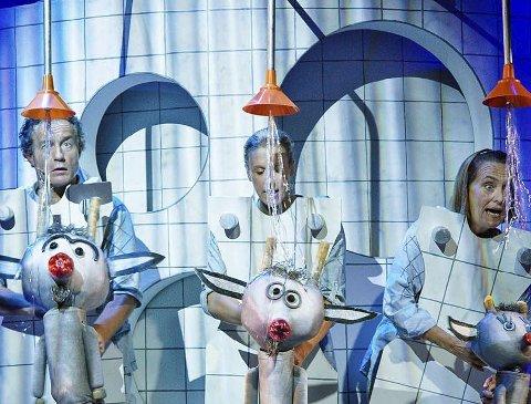 Badeland: Bukkene Bruse drar til Badeland i denne teateropplevelsen fra Riksteatret.
