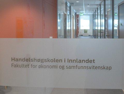 UNDERVISNINGSFRI: Flere Lillehammer-ansatte ved Handelshøgskolen i Innlandet har avtaler om undervisningsfri. (Foto: Bjørn-Frode Løvlund)