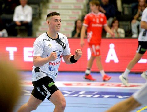 TOPPSCORER: Orri Freyr Thorkelsson løp på alle baller han ble servert i ankomstfasen, og ble kampens desiderte toppscorer med sine 12 nettkjenninger.