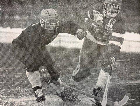 FAKSIMILE 1995: Brevik Bandy mot Njård.