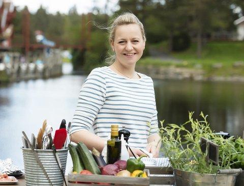 TV-kokk: Elise Bratteng Rønning representerer Norges Sjømatråd på TV. Foto: TV2/Anders Martinsen