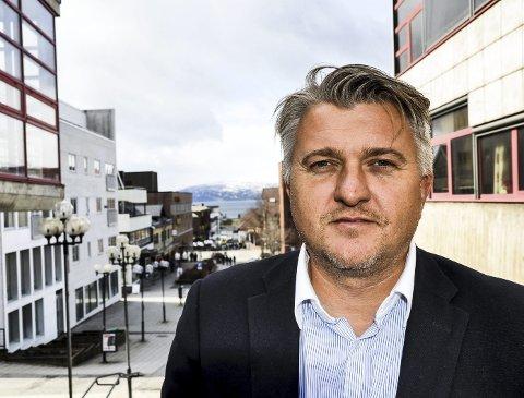 TOK FEIL: Espen Haaland, styreleder i Mellomvika 35, medgir at Østbø ble anmeldt på feil grunnlag. Foto: Marit Ulriksen