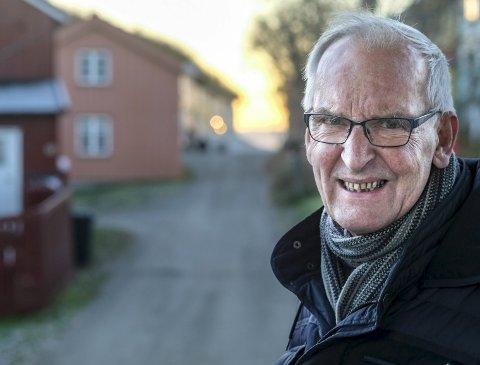 Prisvinner: Per Gunnar Hjorthen er av et enstemmig utvalg for oppvekst og kultur tildelt Rana kommunes kulturpris for 2020. Foto: Øyvind Bratt