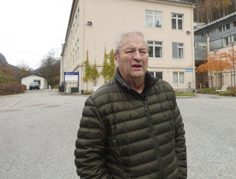 Positive signaler: Vidar Stang (Ap) er optimistisk med tanke på å få til en forpliktende avtale med Sykehuset Telemark etter å møtt sykehusdirektøren.