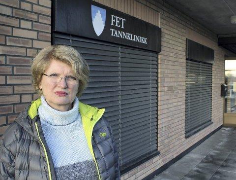 Opprørt: Mette Sperre (MDG) liker dårlig at Fetsund tappes for statlige og fylkeskommunale servicetilbud. Foto: Elin Svendsen