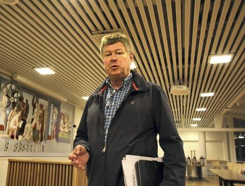 SER IKKE ALTERNATIV: Hvis vi ikke klarer å finne pengene noe annet sted kan vi ikke se at vi kommer utenom eiendomsskatt, sier Olav Resaland, gruppeleder i Ap.Foto: Per Stokkebryn