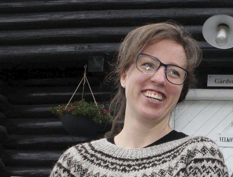 Spår eventyrlig vekst: Rebekka Bond, prosjektleder for Reko-ringen i Norsk Bonde- og Småbrukarlag. FOTO: ELISABETH LUNDER