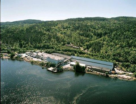 ALVOR: Logistikksjefen i Norgips sier selskapet tar hendelsen i Røyken Næringspark på alvor.
