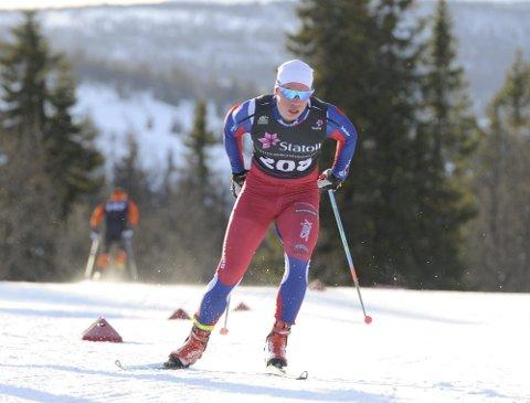 SATSER: Eivind Kjennerud har fått føle på kroppen at det er vanskeligere å hevde seg i senior enn det var i juniorsammenheng. Foto: Svein Halvor Moe