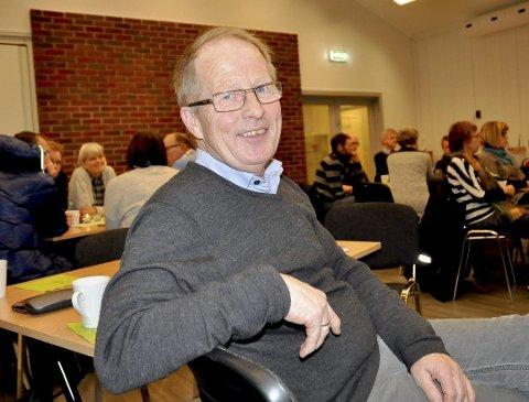 Jan Mathisen ønsker velkommen til Arena Knapstad.