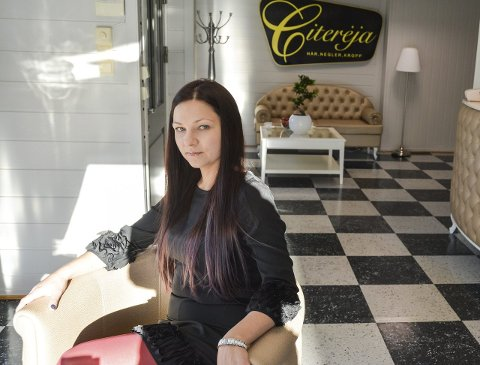 NY START: – Jeg er vant med strenge krav til salonger, det er viktig for oss som jobber i dem også, sier Kristina Sazeviciené.