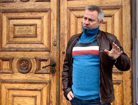 KRITISK: Kjetil Haugersveen, SLT-koordinator og ungdomsarbeider, frykter konsekvensene av forslag til ny rusreform.