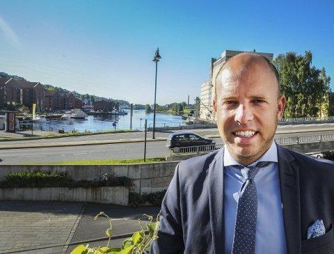 KREVENDE ÅR: Konsernsjef Emil Eriksrød sier 2020 ble kjempekrevende for R8 Property på grunn av pandemien.