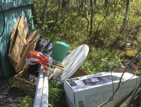 Kristiansun kommune vil ha tips om forsøpling.
