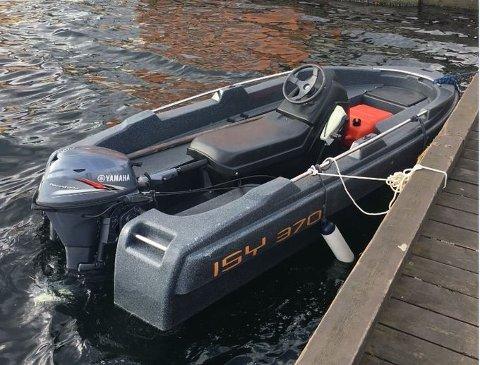 To menn anmeldes etter båttur i denne farkosten.