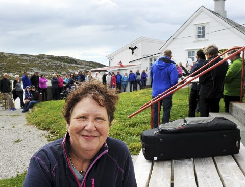 Inger Helene Aasen er leder i Stavnesets venner.