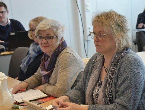 May Britt Lunde (i midten) er initiativtaker til spørreundersøkelsen.
