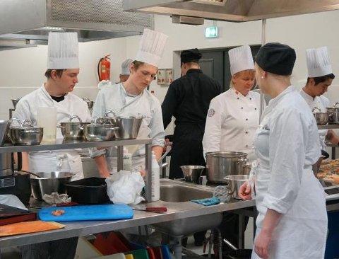MOT SLUTTEN: Restaurant og matfag i Kvinesdal har hatt lave søkertall i flere år nå foreslås hele tilbudet lagt ned fordi det bare er to søkere til neste skoleår.