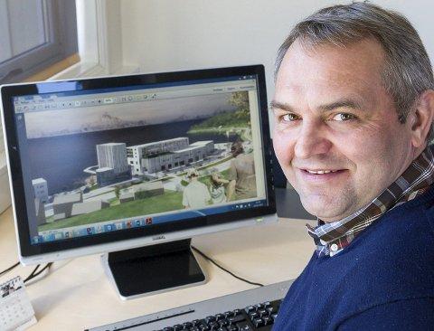 Svært nær: Styreleder i Meløygruppen, Ken Henry Solhaug, tror spaden kan settes i jorda om 7–8 måneder.