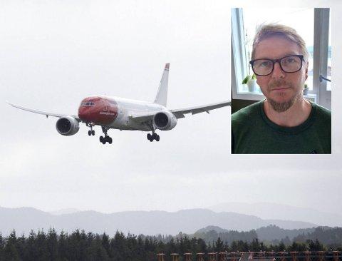 Tor-Åge Grødem skulle omsider reise til datteren i Danmark, før Norwegian endret reiseruten hans.