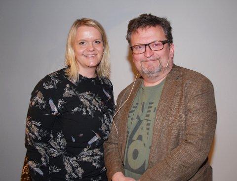 Erik Fosnes Hansen i samtale ble intervjuet av Marthe Hov Jacobsen.