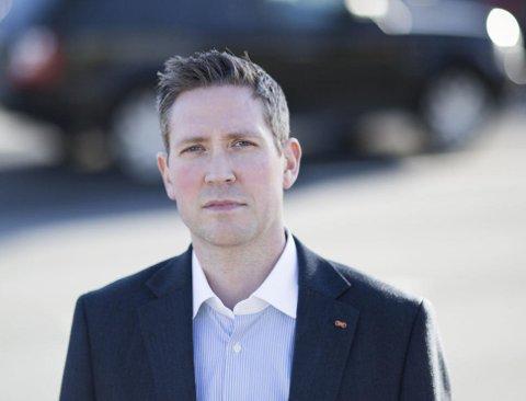 FORSIKRING: Petter Berg er fagansvarlig for motor i Storebrand Forsikring.