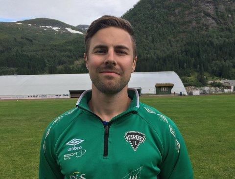 MØTER FØRDE: André Heggheim ser fram til å møte Førde i første serierunde i Kretsligaen.