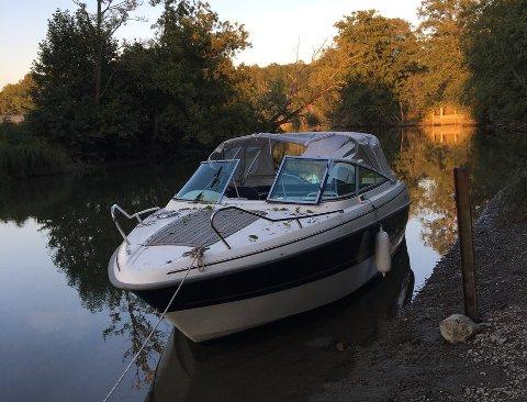Er denne båten din: Politiet pågrep føreren som var beruset og ikke kunne forklare eierforholdet til båten