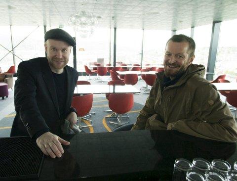 Håvard Stubø og Joar Nilsen er begge sentrale når Midtsommerjazzen arrangeres for andre året «på rad». Stubø som arrangør og musiker, Nilssen som DJ. FOTO: JAN ERIK TEIGEN