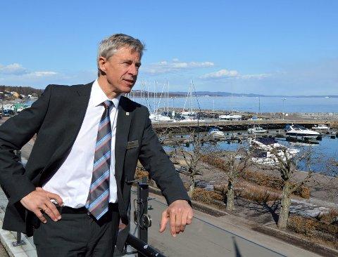 FORNØYD: Direktør Per Stang Christensen er glad for at streiken er over og at ledelse og ansatte nå sammen kan se framover mot nye mål.
