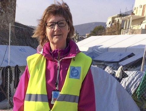 VIL HJELPE: Vera Wold fra Kongsvinger reiser igjen til Hellas for å hjelpe flyktningene.