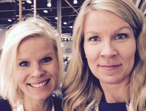 Søstrene Annette og Sunniva Hoff fra Lillehammer har startet selskapet Fram Oslo og representerer i disse dager til Norge i Paris med sin design.