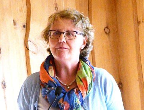 Fungerende ordfører i Dovre,  Guri Ruste.