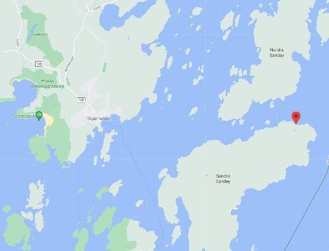 Kåvika ligger nord på Søndre Sandøy på Hvaler.