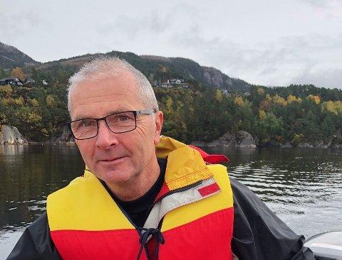 Frode Bjørheim synes kravet fra Haugaland Kraft er smålig.