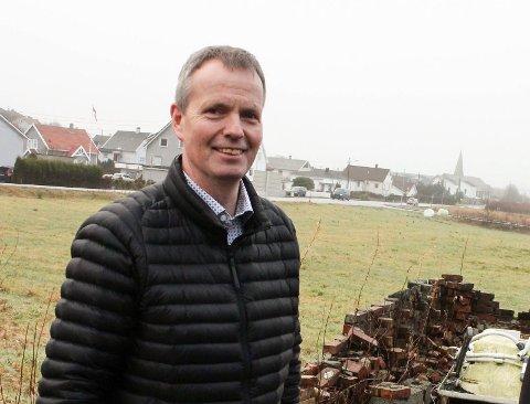 SJEF: Kjetil Alvheim er daglig leder for Odd Hansen. Her ved Norheimsmarka boligfelt. (Arkvifoto)