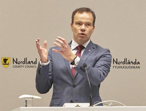 Fylkesrådsleder Tomas Norvoll (Ap).