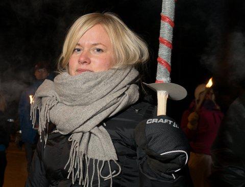 NY FØRSTEKANDIDAT: Amy Brox Webber er Finnmarks SV førstekandidat foran årets stortingsvalg.