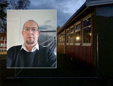 HVA SKJER: FAU-leder på Seljestad barneskole, Daniel Hanssen, har sendt inn spørsmål til politikerne for å spørre hvor prosessen med Rødskolen står.